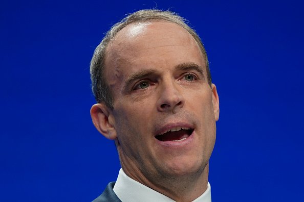 UK justice minister Dominic Raab rapped for 'misogyny' gaffe