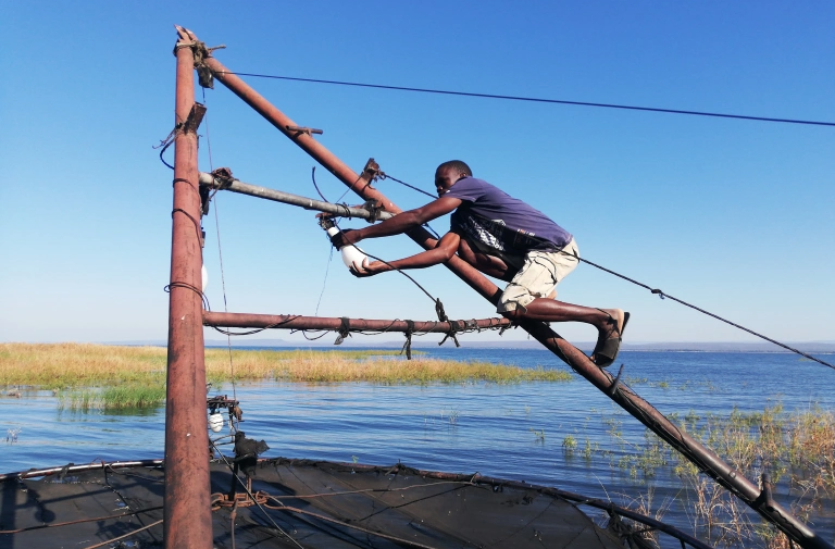 Why Zimbabwe's 'great river people' feel cut off from their trade